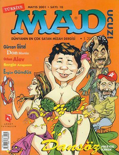 Cover for Türkiye MAD (Aksoy Yayıncılık, 2000 series) #10