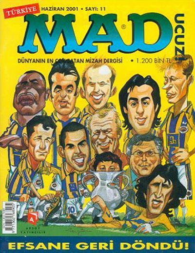 Cover for Türkiye MAD (Aksoy Yayıncılık, 2000 series) #11