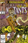 Cover Thumbnail for The New Mutants (1983 series) #95 [Second Printing]