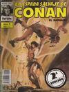 Cover for La Espada Salvaje de Conan (Planeta DeAgostini, 1982 series) #1 [2ª Edición]