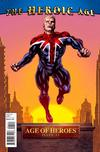 Cover for Age of Heroes (Marvel, 2010 series) #1 [Captain Britain Variant Cover]