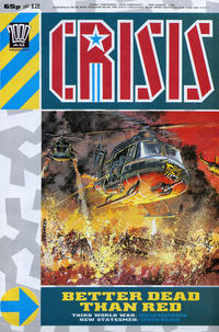 Cover Thumbnail for Crisis (Fleetway Publications, 1988 series) #12