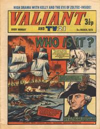 Cover Thumbnail for Valiant and TV21 (IPC, 1971 series) #3rd March 1973