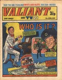 Cover Thumbnail for Valiant and TV21 (IPC, 1971 series) #14th April 1973