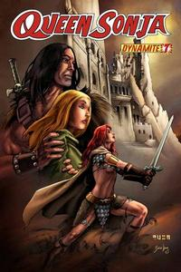 Cover Thumbnail for Queen Sonja (Dynamite Entertainment, 2009 series) #7 [Mel Rubi Cover]