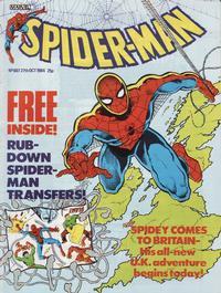 Cover Thumbnail for Spider-Man Comic (Marvel UK, 1984 series) #607