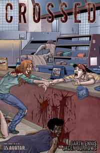 Cover Thumbnail for Crossed (Avatar Press, 2008 series) #6 [Wraparound Cover - Jacen Burrows]