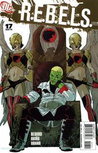 Cover Thumbnail for R.E.B.E.L.S. (DC, 2009 series) #17
