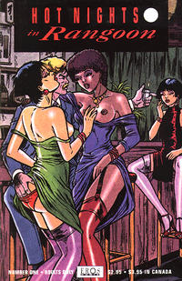 Cover Thumbnail for Hot Nights in Rangoon (Fantagraphics, 1994 series) #1