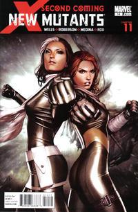 Cover Thumbnail for New Mutants (Marvel, 2009 series) #14 [Granov Cover]