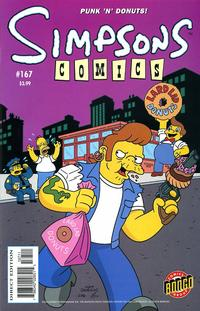 Cover Thumbnail for Simpsons Comics (Bongo, 1993 series) #167
