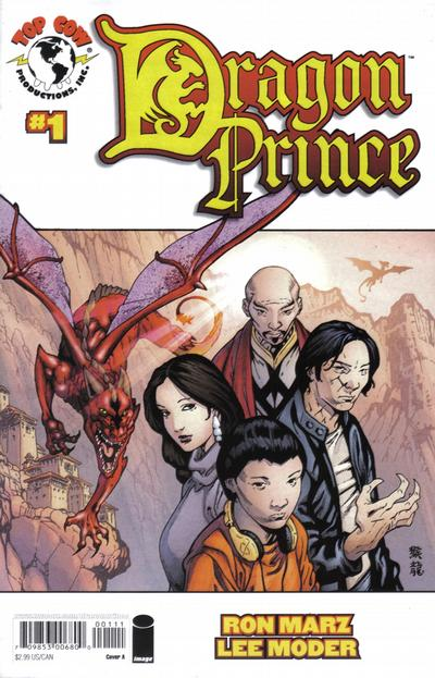 Cover for Dragon Prince (Image, 2008 series) #1 [Cover A]