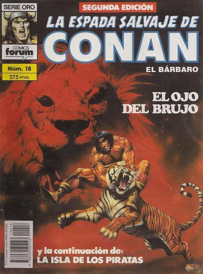 Cover for La Espada Salvaje de Conan (Planeta DeAgostini, 1982 series) #18