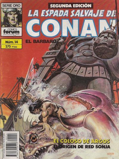 Cover for La Espada Salvaje de Conan (Planeta DeAgostini, 1982 series) #14