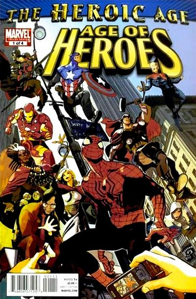 Cover for Age of Heroes (Marvel, 2010 series) #1 [Direct Market Standard Cover]