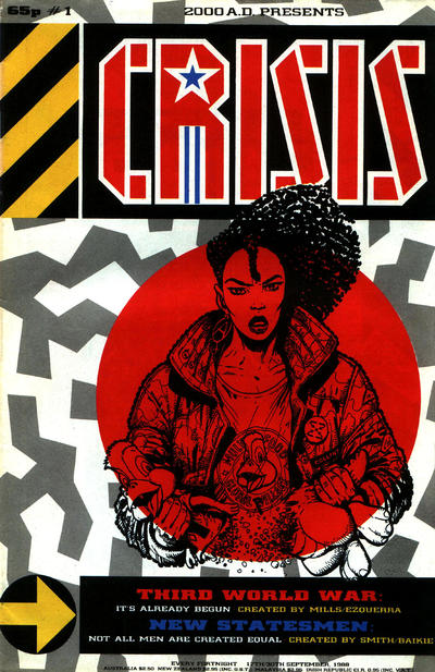 Cover for Crisis (Fleetway Publications, 1988 series) #1