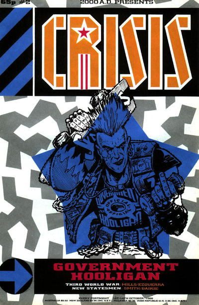 Cover for Crisis (Fleetway Publications, 1988 series) #2