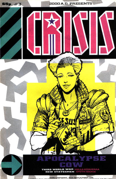 Cover for Crisis (Fleetway Publications, 1988 series) #3