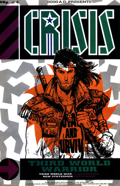 Cover for Crisis (Fleetway Publications, 1988 series) #4