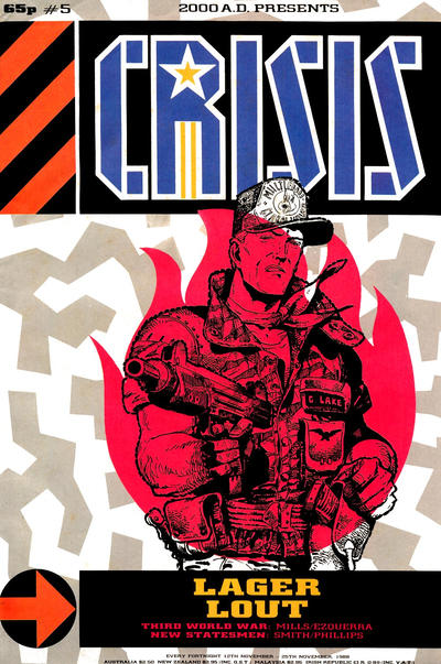 Cover for Crisis (Fleetway Publications, 1988 series) #5