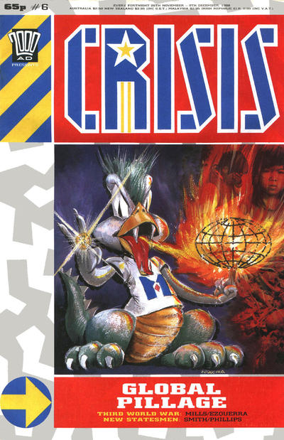 Cover for Crisis (Fleetway Publications, 1988 series) #6