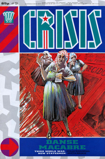 Cover for Crisis (Fleetway Publications, 1988 series) #9
