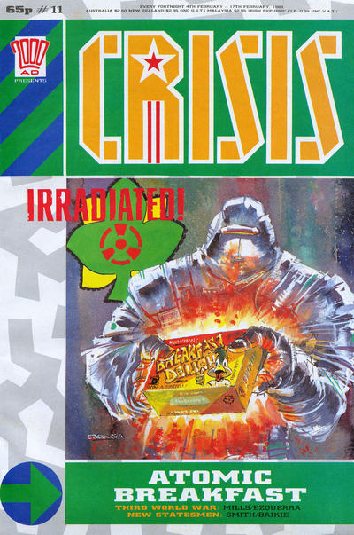 Cover for Crisis (Fleetway Publications, 1988 series) #11