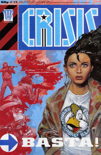 Cover for Crisis (Fleetway Publications, 1988 series) #13