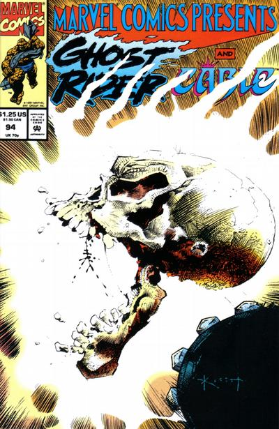 Cover for Marvel Comics Presents (Marvel, 1988 series) #94