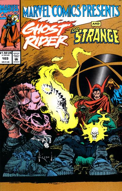 Cover for Marvel Comics Presents (Marvel, 1988 series) #103 [Direct]