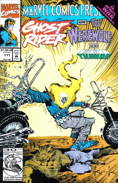 Cover for Marvel Comics Presents (Marvel, 1988 series) #111 [Direct]