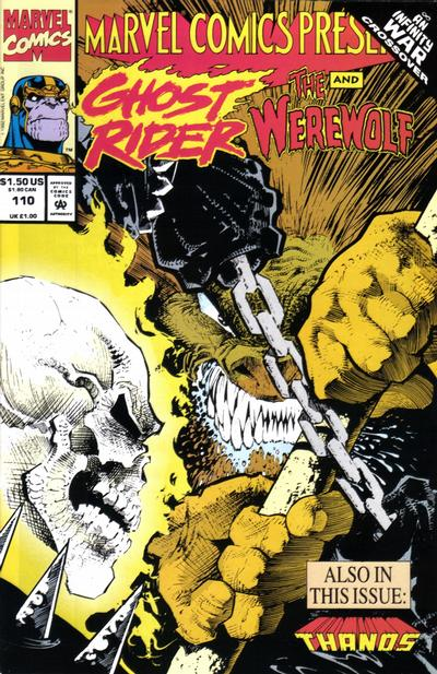 Cover for Marvel Comics Presents (Marvel, 1988 series) #110 [Direct]