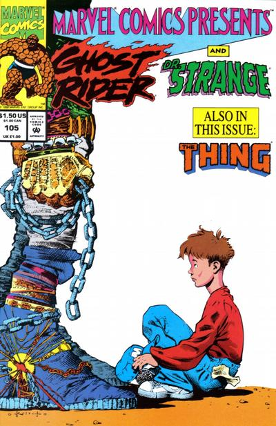 Cover for Marvel Comics Presents (Marvel, 1988 series) #105 [Direct]