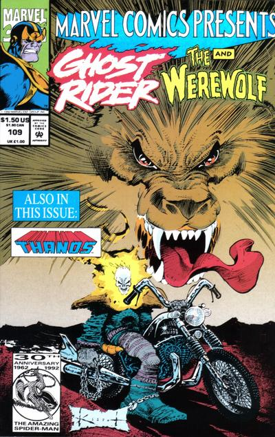 Cover for Marvel Comics Presents (Marvel, 1988 series) #109 [Direct]