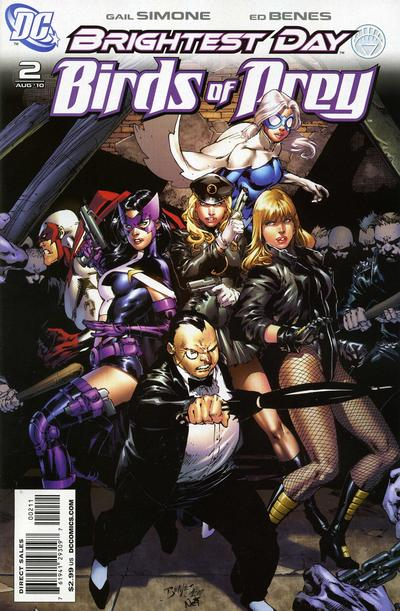 Cover for Birds of Prey (DC, 2010 series) #2 [2nd printing]