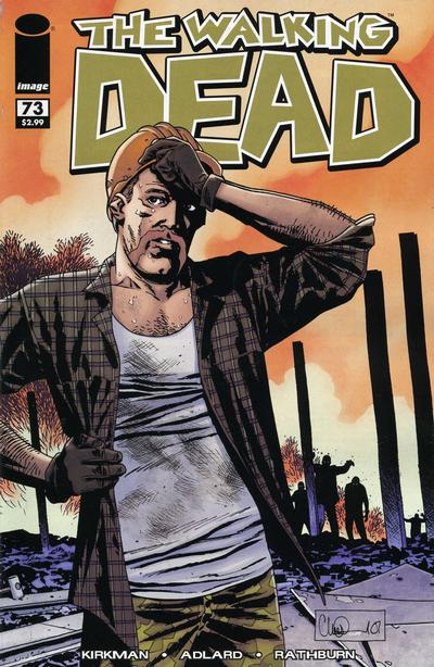 Cover for The Walking Dead (Image, 2003 series) #73