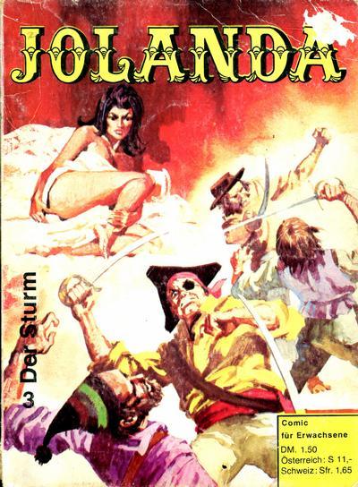 Cover for Jolanda (Der Freibeuter, 1973 series) #3