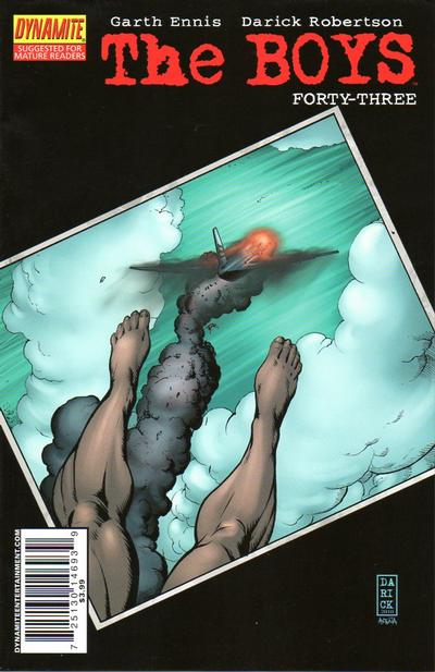 Cover for The Boys (Dynamite Entertainment, 2007 series) #43