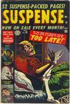 Cover for Suspense (Marvel, 1949 series) #22
