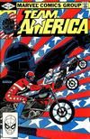 Cover for Team America (Marvel, 1982 series) #1 [Direct]