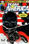 Cover for Team America (Marvel, 1982 series) #3 [Direct]