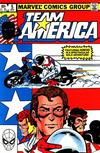 Cover for Team America (Marvel, 1982 series) #5 [Direct]