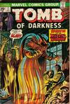 Cover for Tomb of Darkness (Marvel, 1974 series) #11