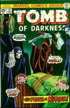 Cover for Tomb of Darkness (Marvel, 1974 series) #13