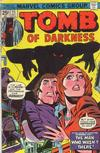 Cover for Tomb of Darkness (Marvel, 1974 series) #15