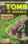 Cover for Tomb of Darkness (Marvel, 1974 series) #17