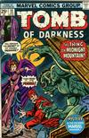 Cover for Tomb of Darkness (Marvel, 1974 series) #18