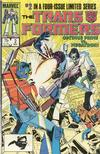 Cover for The Transformers (Marvel, 1984 series) #2 [Direct]