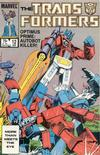 Cover for The Transformers (Marvel, 1984 series) #12 [Direct]
