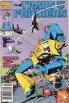 Cover Thumbnail for The Transformers (1984 series) #16 [Canadian Newsstand]